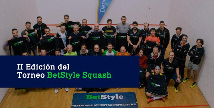 Segundo Torneo de Squash BetStyle
