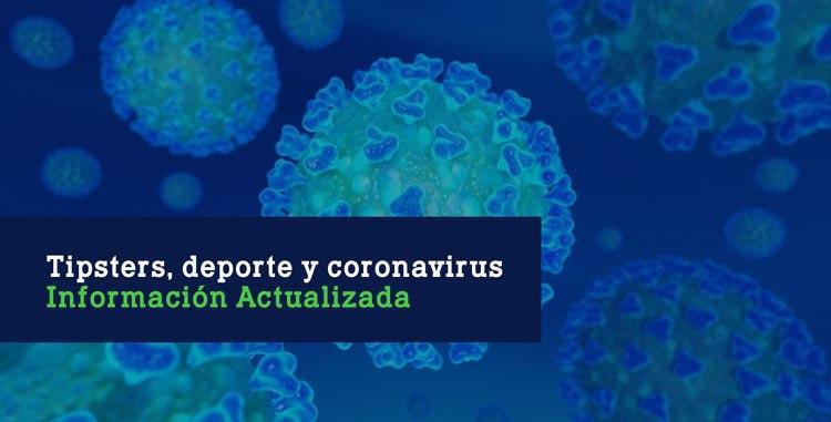 Tipsters, deporte y Coronavirus Imagen