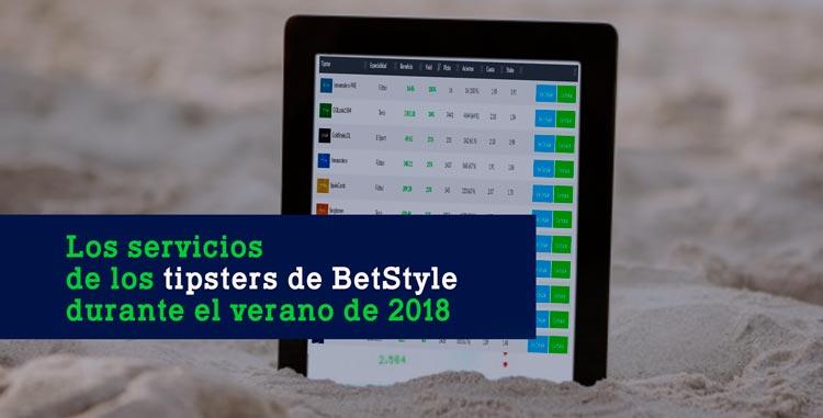 Tipsters Premium BetStyle Verano 2018